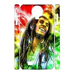 C-EUR Cell phone case Bob Marley Hard 3D Case For Samsung Galaxy S4 i9500