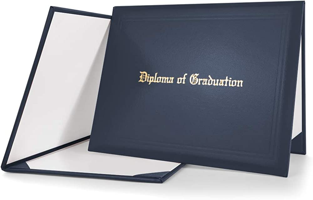 GraduationMall Imprinted Diploma Cover For Certificate 8.5''x 11''