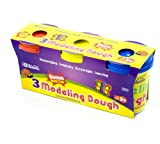 BAZIC 5 Oz. Multi Color Modeling Dough (3/Pack) (Case of 24) (3312-24)