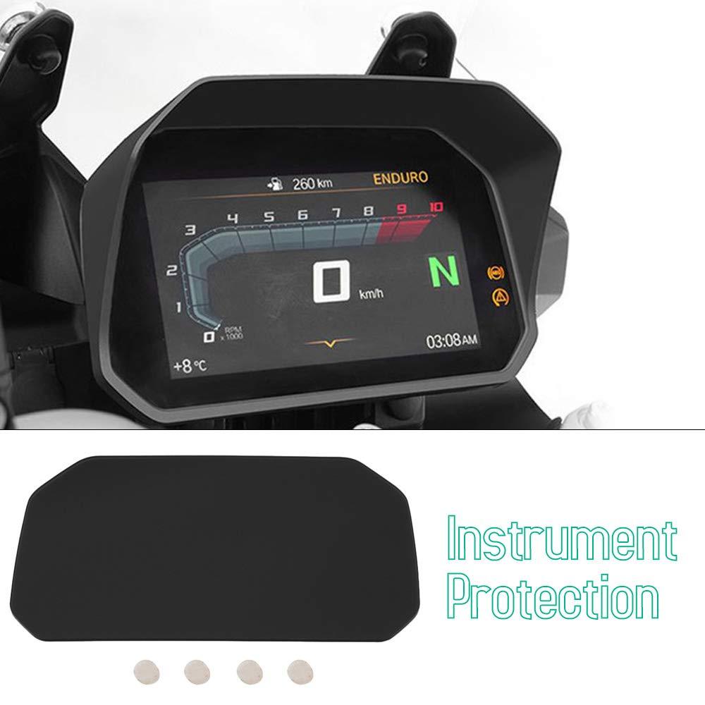 KKmoon Visiera Parasole per Strumento Moto Protezione Coperchio Parasole Adatta per BMW R1200GS R1250GS F750GS F850GS