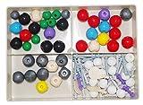 Haobase Molecular Model Set for Inorganic & Organic Chemistry(52 atoms, 37 links)