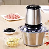 Portable Full Body Stainless Steel Electric Meat Grinder Meat...