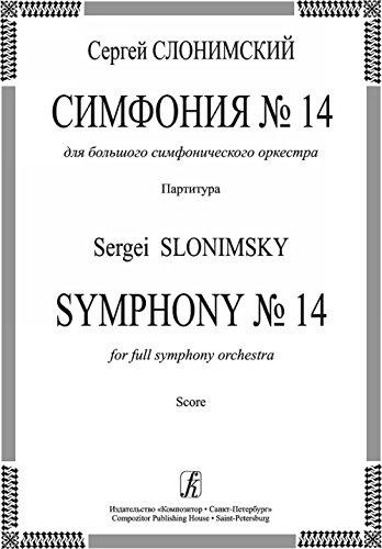 Download Symphony No. 14. For full symphony orchestra. Score pdf epub