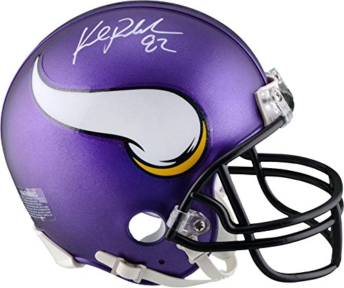 Kyle Rudolph Minnesota Vikings Autographed Riddell Mini Helmet - Fanatics Authentic Certified - Autographed NFL Mini Helmets (Autographed Riddell Helmet)