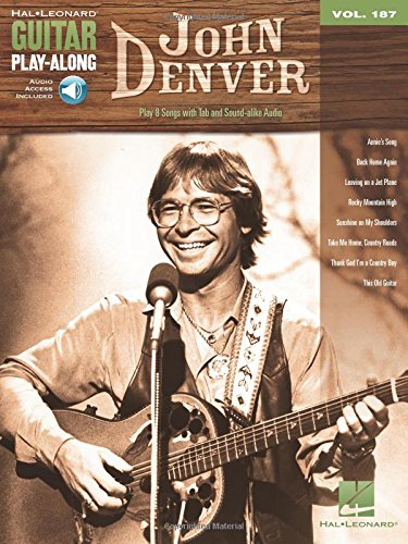 John Denver: Guitar Play-Along Volume 187 (Hal Leonard Guitar Play-Along)