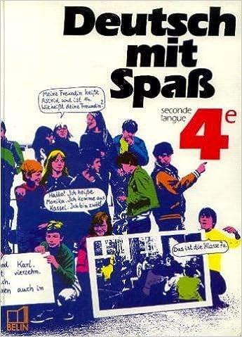 En ligne Deutsch mit Spass, 4e LV2. Livre de l'élève pdf, epub
