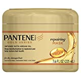 Pantene Gold Series Argan Oil, Sulfate Free, Repairing Mask For Dry And Damaged
