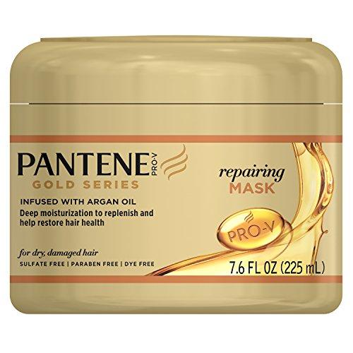 Pantene Gold Series Argan Oil, Sulfate Free, Repairing Mask