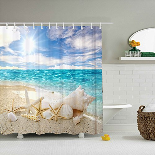 Shower Curtains Unique Creative Inspirationals Size 69 by 84 Inch
