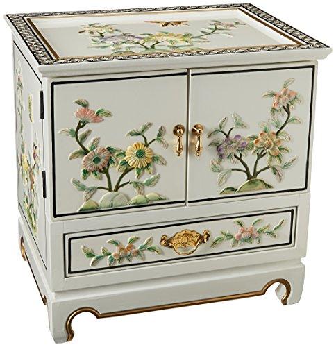 Amazon.com: Oriental Muebles Empress Laca Jewel Box – Negro ...