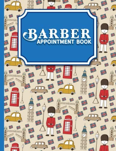 Download Barber Appointment Book - Cute London Cover: 4 Columns pdf epub
