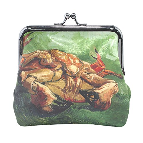 Vipsk Painting Crab PU Leather Wallet Card Holder Coin Purse Clutch - Crab Needlepoint