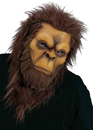 Halloween Sasquatch Costume (Big Foot Monster Sasquatch Creature Adult Halloween Costume Mask)