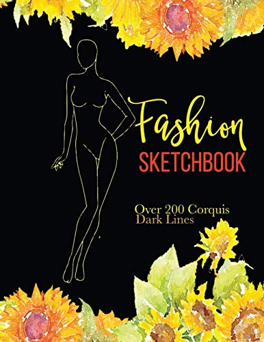 (Fashion Sketchbook: Over 200 Fashion Croquis Templates To Bring Your Designs to Life Quickly (Fashion Corquis Template) (Volume 2))