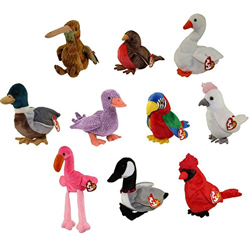 TY Beanie Babies - BIRDS #1 (Set of 10)(Beak, Early, for sale  Delivered anywhere in USA