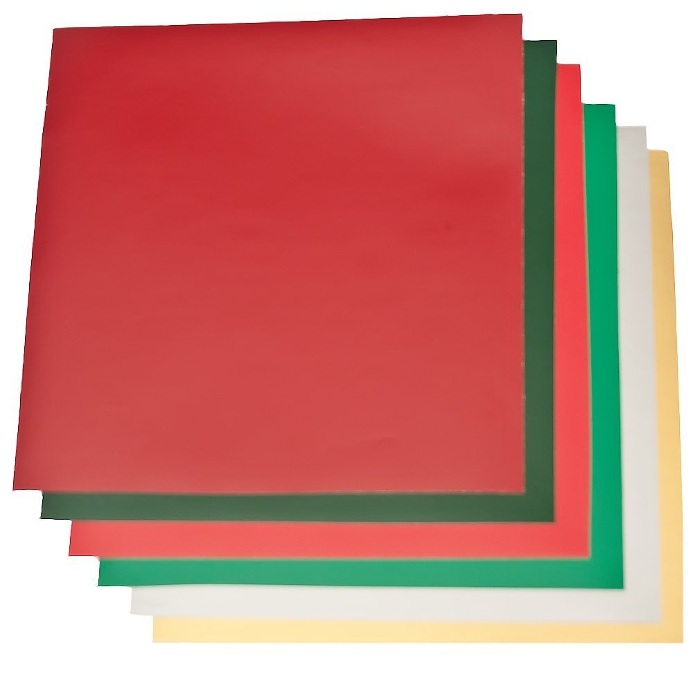 12x12 Permanent Vinyl Sheets Adhesive Outdoor Craft For