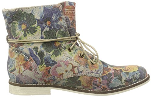 s.Oliver 25203 Damen Chukka Boots Mehrfarbig (FLOWER MULTI 989)