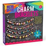 Craft-tastic – DIY Charm Bracelets Kit – Craft Kit Makes 4 Customizable Bracelets with Easy DIY Puffy Sticker Charms Reviews