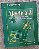 Algebra 2, Miriam A. Leiva, 0395769906