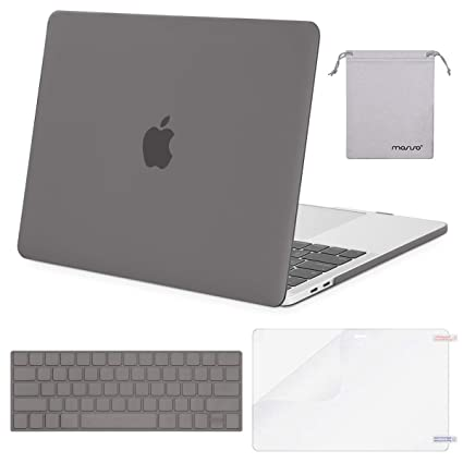 separation shoes ec6bd 561a6 MOSISO MacBook Pro 13 Case 2019 2018 2017 2016 Release A1989 A1706 A1708,  Plastic Hard Shell & Keyboard Cover & Screen Protector & Storage Bag ...