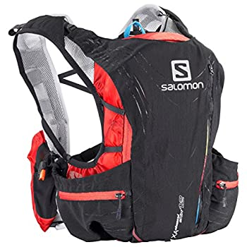 Salomon S-lab Adv Skin 12 Set Black Racing Red Xxs 1