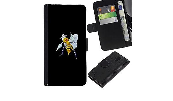 LECELL--Cuero de la tarjeta la carpeta del tirón Smartphone Slots ...
