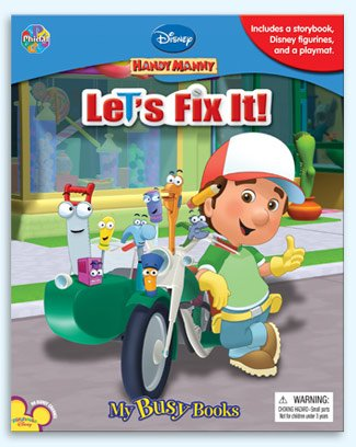 Handy Manny Let's Fix It (My Busy - Fix It Manny