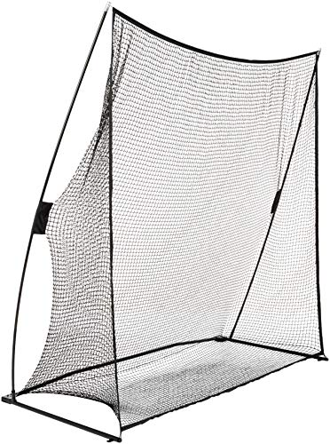 AmazonBasics Portable Driving Practice Golf Net, 7-Foot x 7-Foot