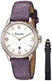 Bulova Diamond Purple Ladies Watch Only $114.99  - 90% Off!