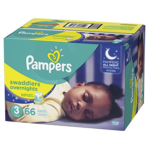 Pampers Swaddlers Overnights Diapers