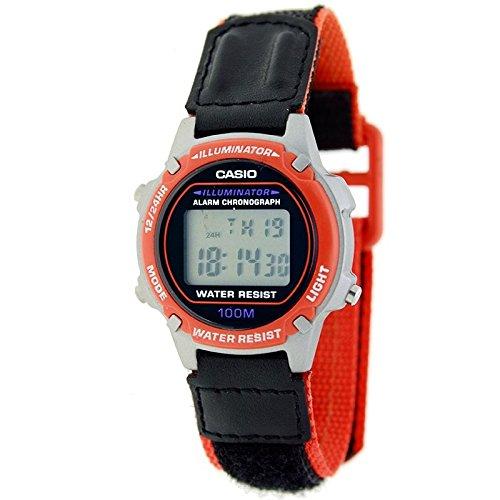 CASIO LW-100HV-4A - Reloj digital Mujer/Cadete. Multifunción. Correa de nylon: Amazon.es: Relojes