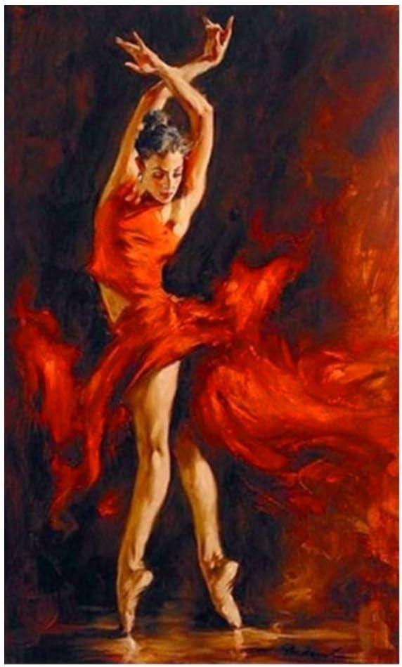 MEIHAO Papel pintado 5D Pintura Diamante Bailarín Completo Ballet ...