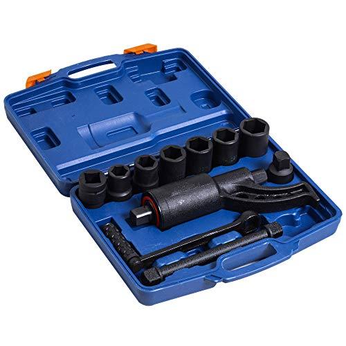 DURHAND Torque Multiplier Wrench Labor Saving Lug Nut Set W/7 Cr-V Socket