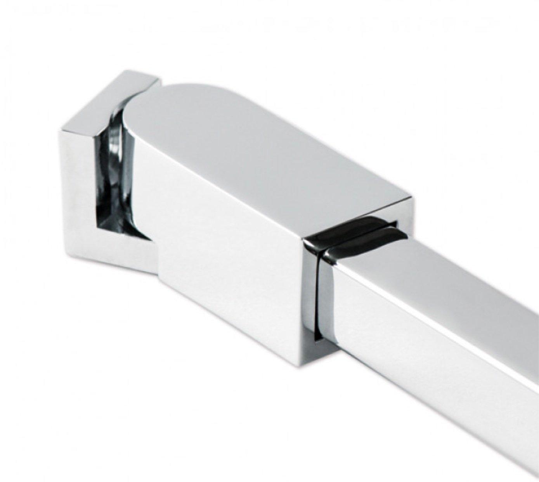 Haltestange Stabistange Dusche Glas-Wand 90° Stabilisationsstange bis 1250 mm