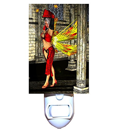 Tiger Lily Fairy Decorative Night Light (Tiger Lamp Lily)