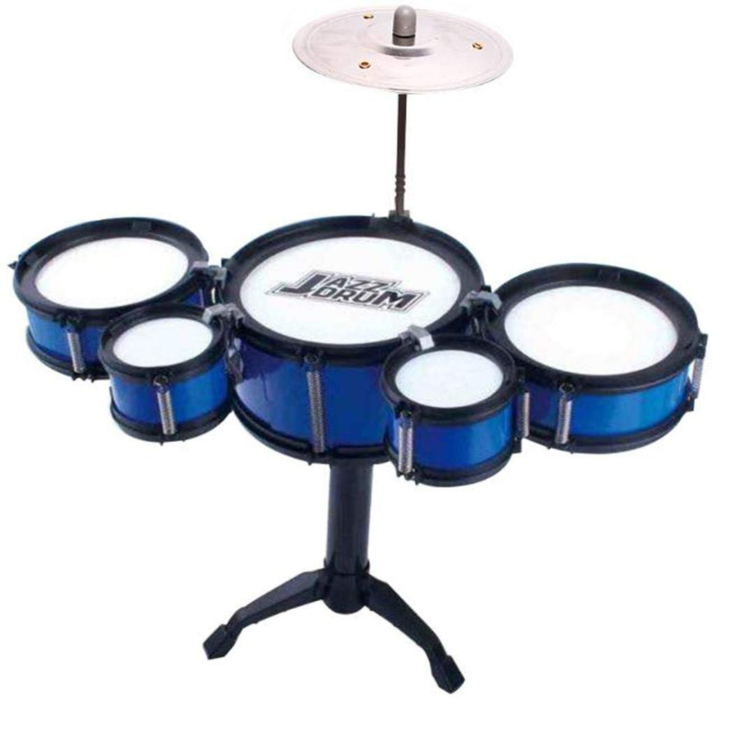 TelDen Kids Three Drum Set Children Percussion Musical Instrument Educational Toys Music & Sound