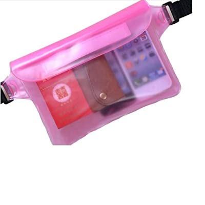 Waist Packs,Ruhiku Waterproof Sports Hiking Handy Belt Pouch good