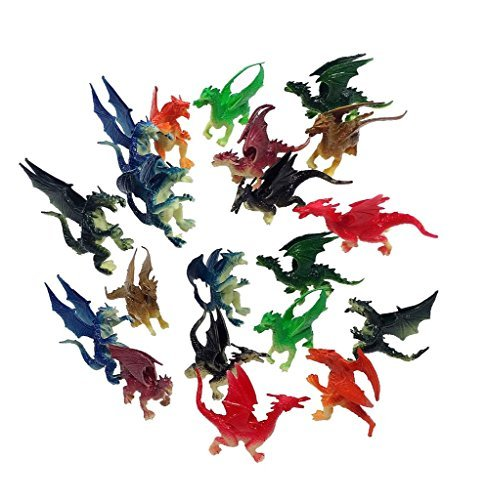 Mini Dragons are inexpensive to use as boy easter basket fillers