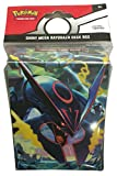 Shiny Mega Rayquaza Deck Box with Two Dividers for Pokemon Trading Cards