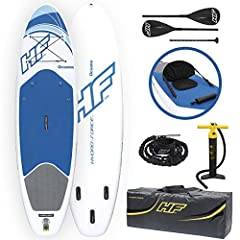 For morning workouts and afternoon tours, the Bestway Hydro Force Inflatable Oceana SUP board gives you efficient performance and the capacity to take on that overnight adventure on your bucket list. The Oceana SUP offers all of the advantage...