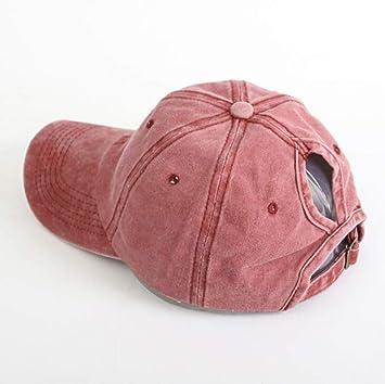 ZBHQTDZ Verano Sombreros para el Sol para Mujer Sombrero de Pony ...