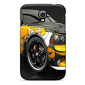 UAQfrFr311GKcqa Case Cover Protector For Galaxy S4 Dodge Charger Case