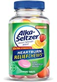 Alka-Seltzer Relief Chews Heartburn Assorted Fruit Treatment, 90 Count