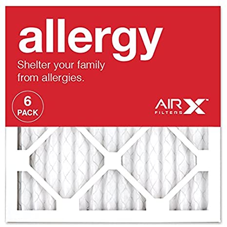 airx allergy 14x14x1 merv 11 pleated air filter - made in the usa ...