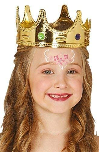 b5d3c218a Amazon.com: Boys Girls Golden Crown King Queen Princess Christmas ...