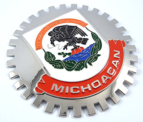 Michoacan Mexico Grille Badge