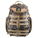 Fashionback Men's Military Hiking Travel Chalk Bags Brown One Size