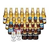 Pack Modelo Variedad: 12 Modelo Especial + 4 Modelo Trigo + 4 Modeo Ámbar + 4 Negra Modelo + 2 Copas