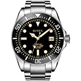BLWRX 43mm Men's Diver Watch 1000m Japanese Automatic Watch Professional Diver Extension Buckle