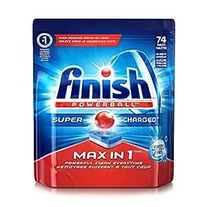 Amazon Com Finish Max In 1 Fresh 74 Tabs Automatic